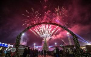 Atmosfera festive gjatë natës së ndërrimit të viteve