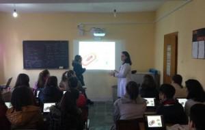 Elbasan, klasat digjitale realizuan orë të hapura