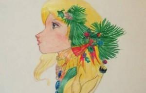 Dejnira Koza, nxënësja e apasionuar pas pikturës