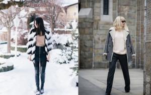 Si të visheni me stil në ditët me dëborë