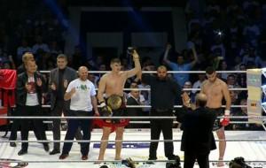 Kristian Prenga, kampion Europe në Kickbox