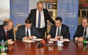 Praktika në ndërmarrje, MASHT marrëveshje me ELKOS GROUP