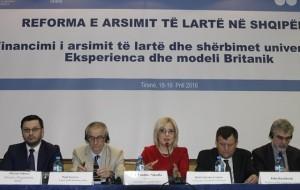 Reforma e arsimit të lartë, konferencën dy ditore