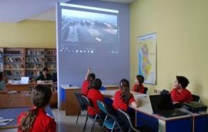Mozaiku i Tiranës, nxënësit hulumtojnë në bibliotekë