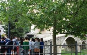 Nxënësit e klasës së gjashtë vizitojnë Urën e Tabakëve