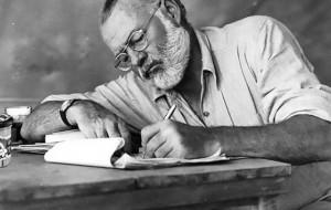 """Çelet ekspozita përkujtimore """"Ernest Hemingway: 1899 - 1961"""""""