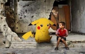 """Fëmijët sirianë: Na gjeni e na shpëtoni si """"Pokemon Go"""""""