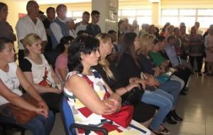 Takim me prindër në Shkollën Profesionale në Kamëz