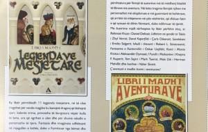 """""""Libri i madh i legjendave mesjetare"""", """"Libri i madh i aventurave"""""""