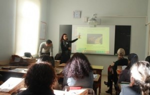 Albas në terren, takime me mësuesit në shkolla