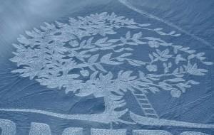 Arti në borë, krijimtaria e mahnitshme e një artisti anglez