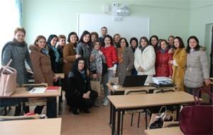 Libri digjital, Albas takim me mësuesit në Vlorë e Peqin