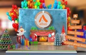 ALBAS-grup ju uron gëzuar festat!