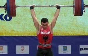 Peshëngritje, shqiptari Briken Çalja medalje bronzi