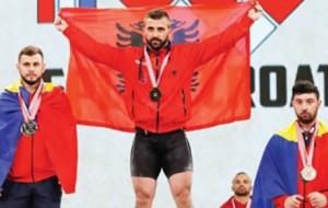 Godelli, kampion i Europës. Qerimaj, medalje argjendi