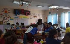 Orë e hapur mësimi në klasën e parë, lënda abetare