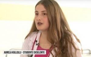22-vjeçarja Aurela Kullolli fitoi medaljen e Artë