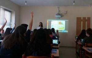 Orë mësimi digjitale në lëndën e fizikës, klasa X-të