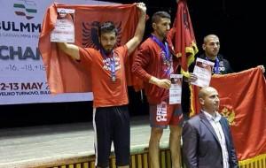Shqipëria fiton medalje ari