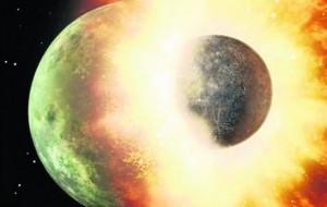 Planetet u formuan nga topa balte!