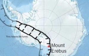 Antarktidë, 91 vullkanë të panjohur rrezikojnë masën akullnajore