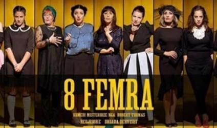 """""""8 femra"""" në Teatrin Kombëtar nën regjinë e Driada Dervishit"""