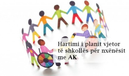 Hartimi i planit vjetor të shkollës për nxënësit me AK