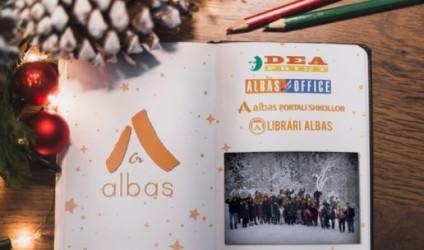 """Albas-Group"" ju uron gëzuar festat!"