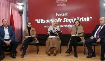 """Prezantohet portali """"Mësues për Shqipërinë"""""""