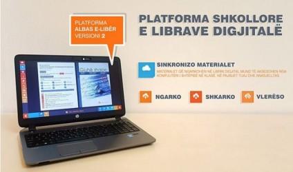 Platforma albas e-libër, merrni materialet nga shtëpia në shkollë