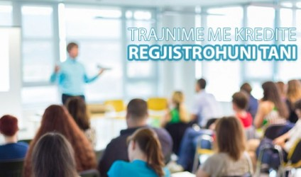 Mësues, regjistrohuni në trajnime