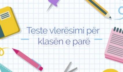Teste vlerësimi për klasën e parë