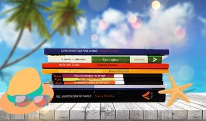 Pushimet verore, zgjidhni librat tuaj të preferuar