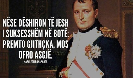 50 aforizma brilante nga Napoleon Bonaparti