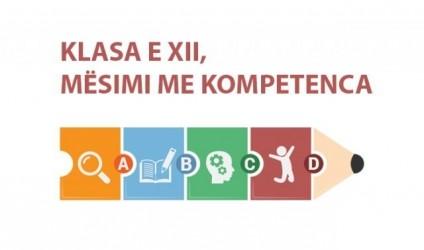 Model mësimi me kompetenca, klasa e XII