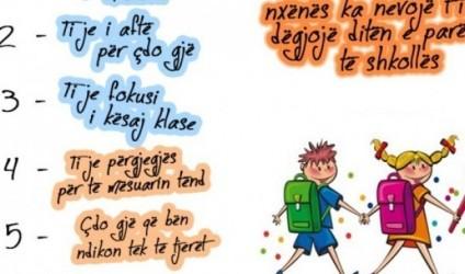 Dita e parë e shkollës, 6 mesazhe që duan t'i dëgjojnë nxënësit