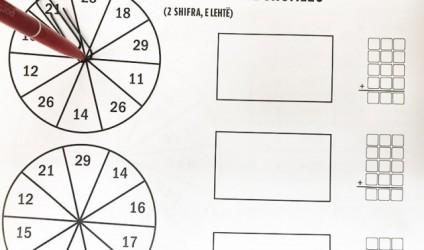 Praktikoni shumëzimin nëpërmjet kësaj loje të thjeshtë