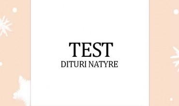"""Test """"Dituri Natyre"""", klasa e tretë"""