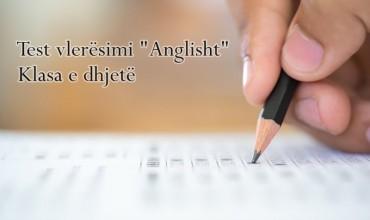 """Test vlerësimi """"Anglisht"""""""