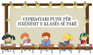 Veprimtari pune për nxënësit e klasës së parë