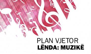 """Plan vjetor lëndor """"Muzikë 2"""""""