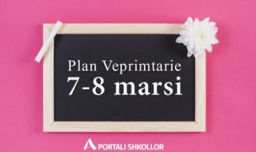 Plan Veprimtarie 7-8 marsi
