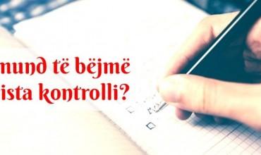 Si mund të bazoheni për të bërë lista kontrolli