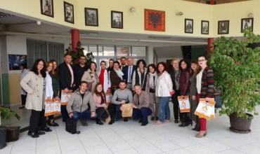 Prezantimi i platformës shkollore Albas e-libër në Prishtinë