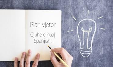 Plan vjetor, gjuhë e huaj Spanjisht