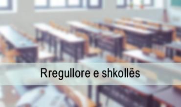 Rregullorja e shkollës