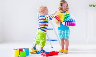 Rëndësia e ngjyrave te fëmijët