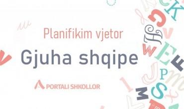 Planifikim vjetor, gjuhë shqipe