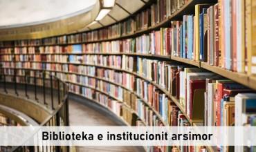 Mbi bibliotekën e institucionit arsimor