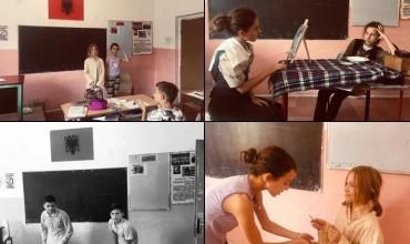 Mësuesja që nxit dhe edukon nxënësit përmes lëndës së teatrit